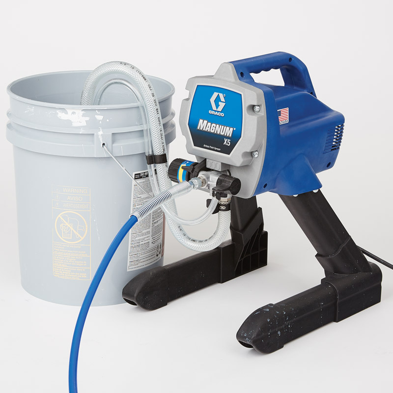 Graco magnum x5 pumpworks paint spray equipment and repair for Graco xr5 airless paint sprayer